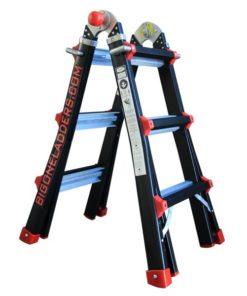MG-ACCÈS producten - ladders - telescoopladders - BigOne Telescopische vouwladder foto 1