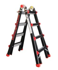 MG-ACCÈS producten - ladders - telescoopladders - BigOne Telescopische vouwladder foto 2