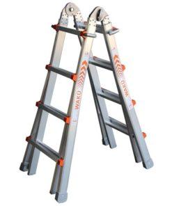 MG-ACCÈS producten - ladders - telescoopladders - Wakü Telescoopladder foto 1