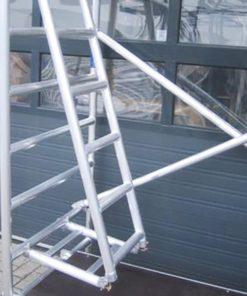 MG-ACCÈS webshop producten - steiger accessoires - ASC Knik Steigerladder foto 1