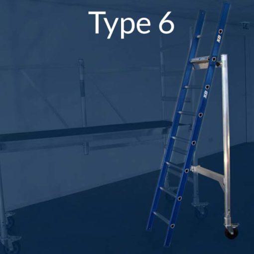 MG-ACCÈS shop - ladder hulpstukken - ALX Safetyclick type 6