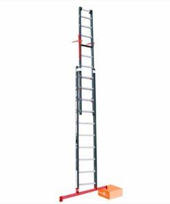 MG-ACCÈS shop - ladders - opsteekladders - Smart Level Ladder met Top Safe Systeem foto 1