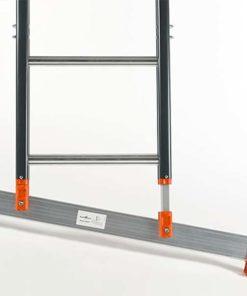MG-ACCÈS shop - ladders - opsteekladders - Smart Level Ladder met Top Safe Systeem foto 4