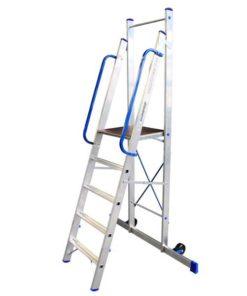 MG-ACCÈS shop - ladders - plateau ladders - ALX Plateau Ladder foto 1