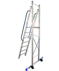 MG-ACCÈS shop - ladders - plateau ladders - ALX Plateau Ladder foto 4