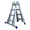 MG-ACCÈS shop - ladders - telescoopadders - ALX Telescopische Vouwladder 4x4 foto 5