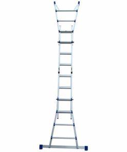MG-ACCÈS shop - ladders - telescoopadders - ALX Telescopische Vouwladder 4x4 foto 6