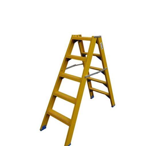 MG-ACCÈS shop - trappen - bordestrappen - ALX Kunststof dubbele trap zonder beugel foto 1