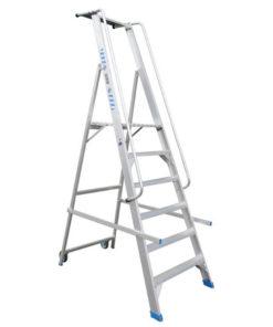 MG-ACCÈS shop producten - trappen - overige trappen - ASC Inklapbare Magazijntrap foto 1