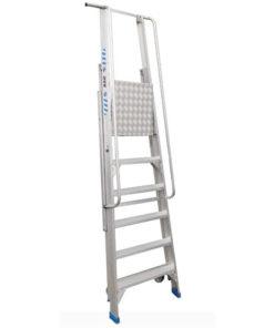 MG-ACCÈS shop producten - trappen - overige trappen - ASC Inklapbare Magazijntrap foto 2