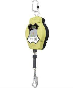 MG-ACCÈS Shop producten - beveiliging - kratos valbeveiliging - Kratos Helixon Staalkabel Valstopblok 15 meter FA2040215