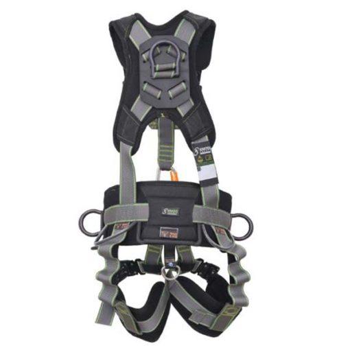 MG-ACCÈS Shop producten - beveiliging - kratos valbeveiliging - Kratos Valbeveiliging Harnas Fly'In 3 FA1020200 achterkant