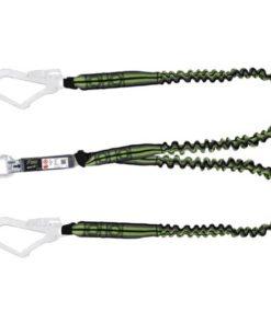 MG-ACCÈS Shop producten - beveiliging - kratos valbeveiliging - Kratos Dubbele Elastische vanglijn 1,5 meter FA3080015