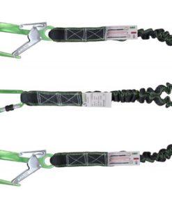 MG-ACCÈS Shop producten - beveiliging - kratos valbeveiliging - Kratos Dubbele Elastische vanglijn 2 meter FA30100020