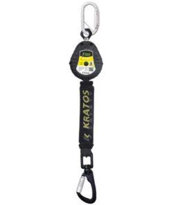 MG-ACCÈS Shop producten - beveiliging - kratos valbeveiliging - Kratos Olympe-S Intrekbare Valbeveiliging 1,5 meter FA2050301