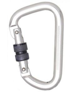 MG-ACCÈS Shop producten - beveiliging - kratos valbeveiliging - Kratos Aluminium Schroefsluiting Karabijnhaak 22 mm FA5010322