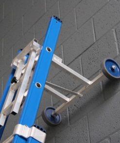 MG-ACCÈS shop klimmateriaal - ladders accessoires - wand en afstandhouder - Ladderafhouder X-max Ongecoat