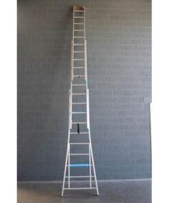 MG-ACCÈS shop klimmateriaal - ladders - reformladders en opsteekladders - VGS Ladder 3-delig