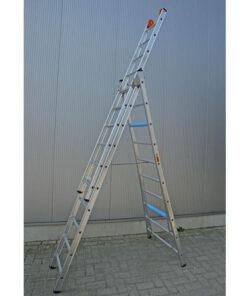 MG-ACCÈS shop klimmateriaal - ladders - reformladders en opsteekladders - VGS Ladder 3-delig staand