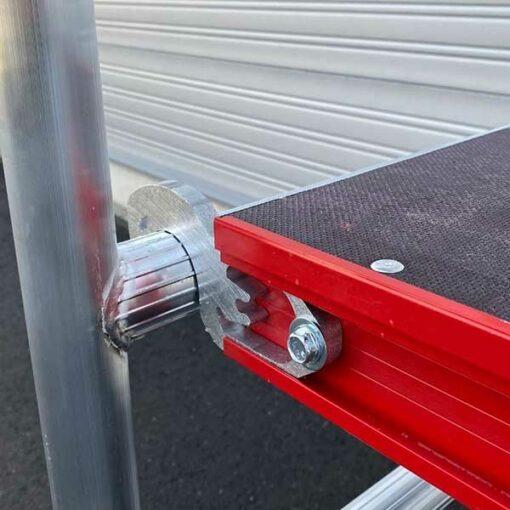 MG-ACCÈS shop - kamersteigers - ALX Red Line Kamersteiger koppeling en deck